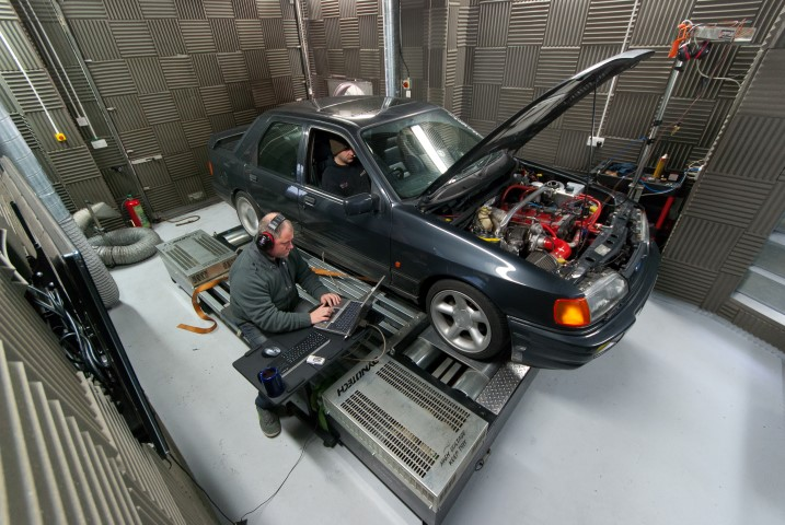 ECU Calibration on the dyno in blackpool